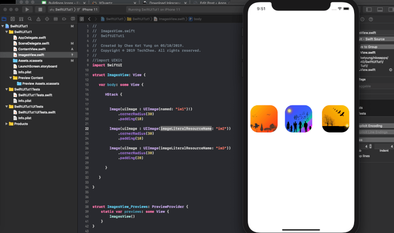 A First look at SwiftUI